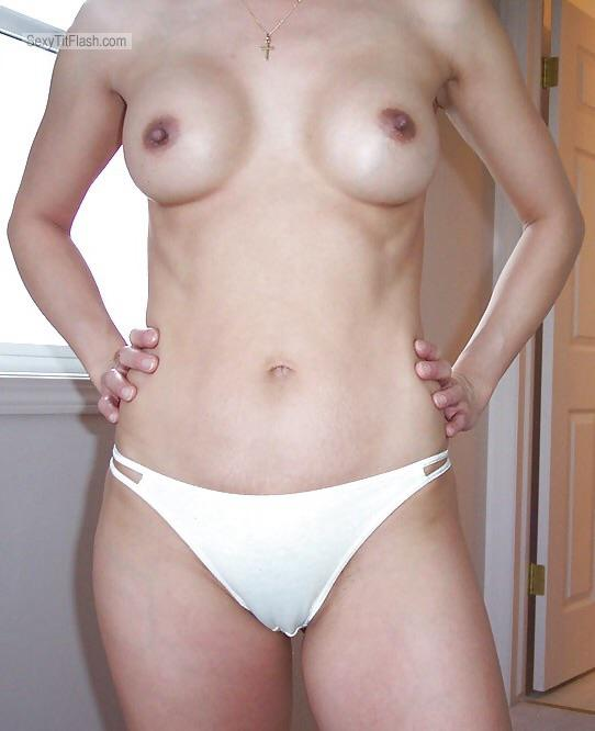 Tit Flash: My Medium Tits - Orientalpervert from China